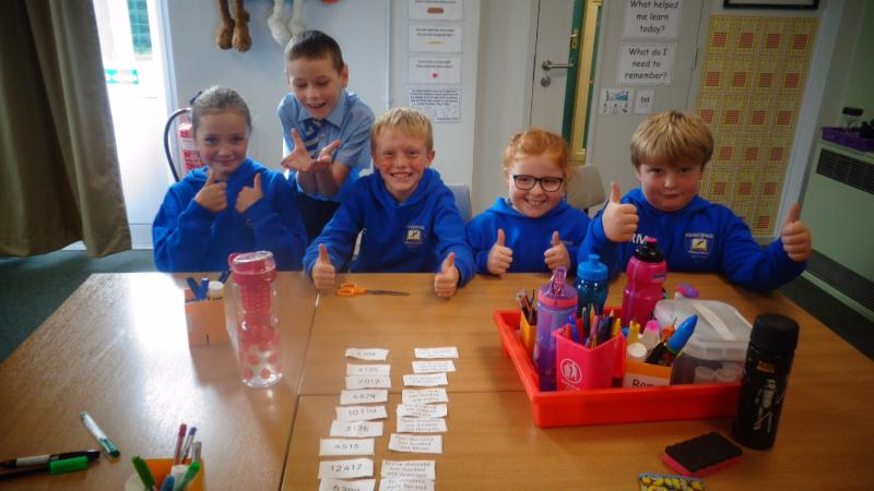 The Red Table sorted their numbers in double quick time!